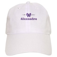 Purple Butterfly - Alexandra Baseball Cap