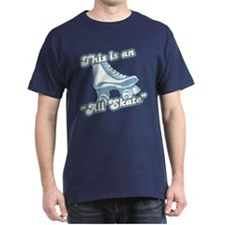 This is an All Skate Navy T-Shirt