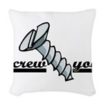 screw2.psd Woven Throw Pillow