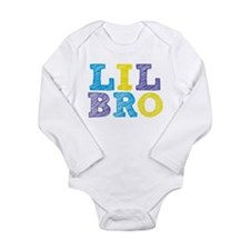 "Sketch Style ""Lil Bro"" Long Sleeve Infant Bodysuit"