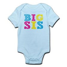 "Colorful ""Big Sis"" Onesie"