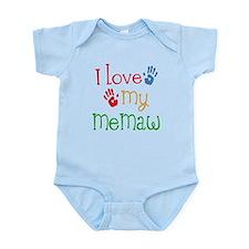 I Love My Memaw Infant Bodysuit