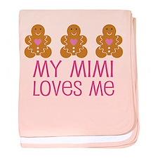 I Love My Meemaw baby blanket