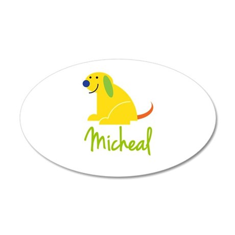 Micheal Loves Puppies Wall Decal
