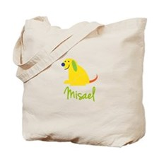 Misael Loves Puppies Tote Bag