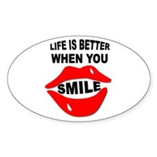 LIFE SMILES Decal
