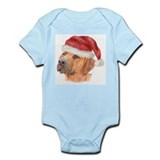 Christmas Rhodesian Ridgeback Infant Bodysuit