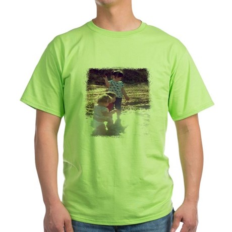 River Fun Green T-Shirt
