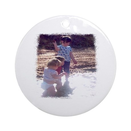 River Fun Ornament (Round)