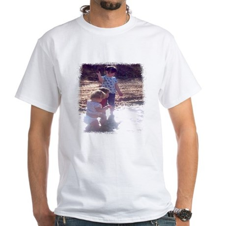 River Fun White T-Shirt