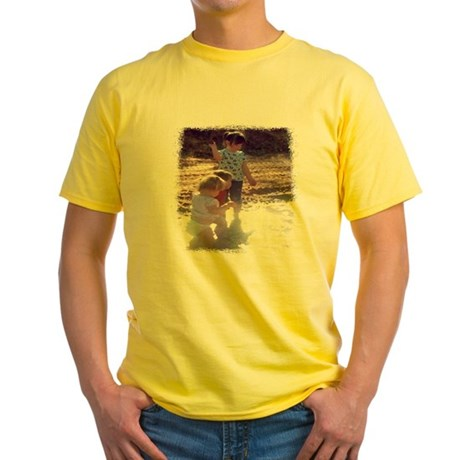 River Fun Yellow T-Shirt