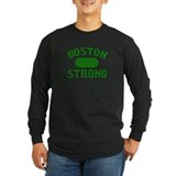Boston Wicked Strong - Green Long Sleeve T-Shirt