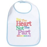 Heart Not Part Bib