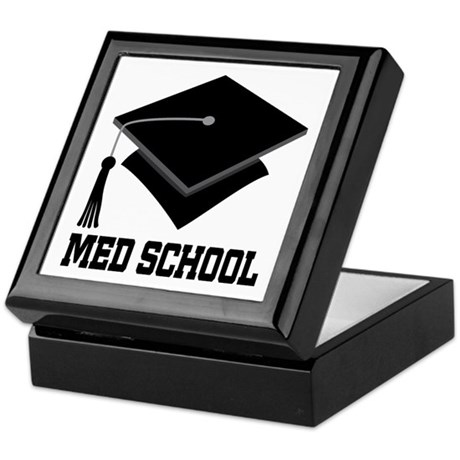 Med School Best Gift Keepsake Box