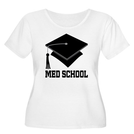 Med School Best Gift Women's Plus Size Scoop Neck