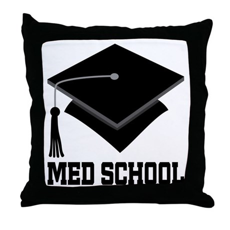 Med School Best Gift Throw Pillow