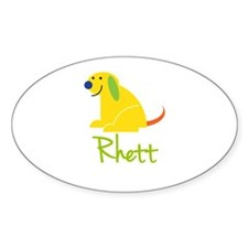 Rhett Loves Puppies Decal