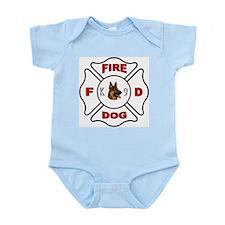 Fire Dog Maltese Cross Body Suit
