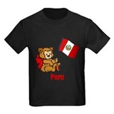 Peru Teddy Bear T-Shirt