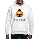 Cute Med School Graduate Hooded Sweatshirt