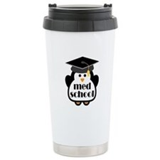 Med School penguin Travel Mug