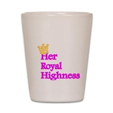 Her Royal Highness Shot Glass