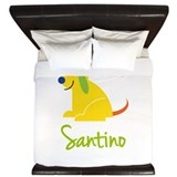Santino Loves Puppies King Duvet
