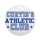 Curtis Ornament (Round)