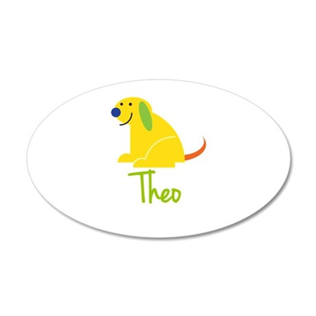 Theo Loves Puppies Wall Decal
