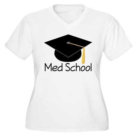 Gift For Med School Graduate Women's Plus Size V-N