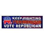 Keep Fighting Terrorism Vote Republican Sticker