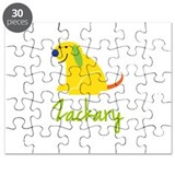 Zackary Loves Puppies Puzzle