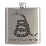 Gadsden Dont Tread On Me Flask