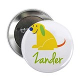 Zander Loves Puppies 2.25&quot; Button (100 pack)