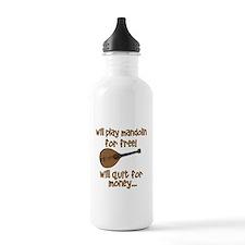 funny mandolin Water Bottle