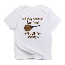 funny mandolin Infant T-Shirt