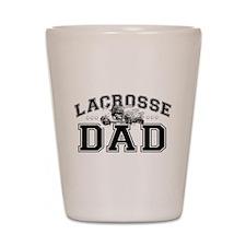 Lacrosse Dad Shot Glass