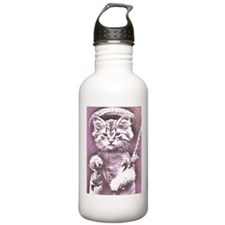 Cat Fish or fishing cat Water Bottle