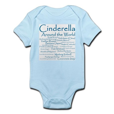 Cinderella Around the World Infant Bodysuit