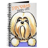 Lhasa Apso PAWS OFF Journal