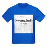 Jorgensen family tour t shirt T