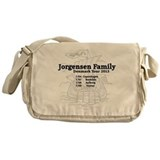 Jorgensen family tour t shirt Messenger Bag