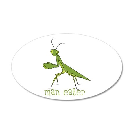 Man Eater Wall Decal