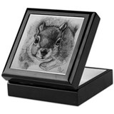 Squrrel Sketch Keepsake Box