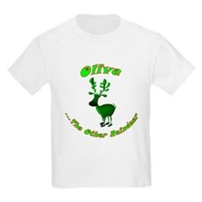 Olive The Other Reindeer Kids T-Shirt