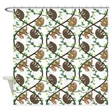 Sloths Shower Curtain