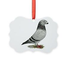 Show Racer Grizzle Pigeon Ornament