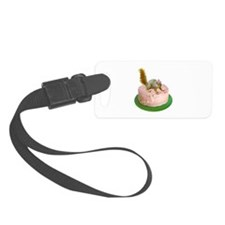 Squirrel on Cake Luggage Tag
