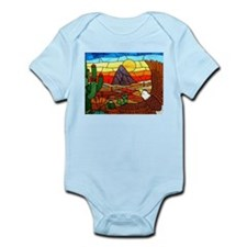 Southwestern Stained Glass Eagle Body Suit