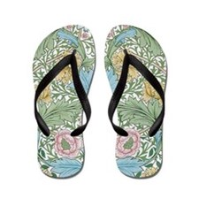 Myrtle Design By William Morris Flip Flops